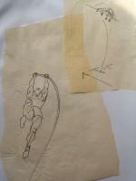 Illustrations pour le livre de Christian Courraud: fasciathérapie et sport