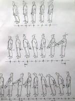 Illustration pour le livre de Agnès Noêl: le mouvement codifié