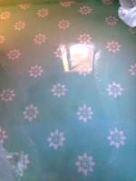 salle de bains au pochoir
