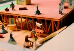 Maquette pour la Villette: L'impromptu de Molière