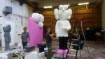 sculptures modèles pour C Dior, juin18