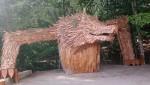 participation porte  entrée parc loups du gévaudan