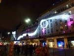 façade bhv, bandeau lumineux