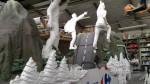 sculpture sur chars tour de france (zigzag prod) juin 2013
