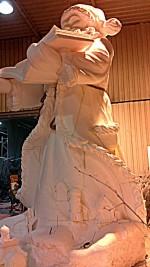 sculpture polystyrène 5,8 m
