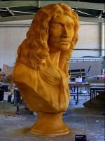 Buste de Molière pour la cérémonie de la 21ème édition s Molières 2007