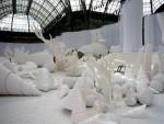Sculptures Devineau pour le défilé Chanel
