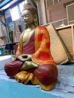 bouddha polychrome 1,80m /film