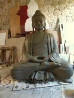 bouddha enduit