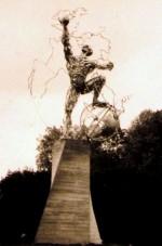 Sculpture monumentale pour l'Europe Montereau 1992 (10m x 4m)