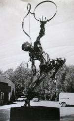 Homme en mouvement: 1989 (4m x 2m)